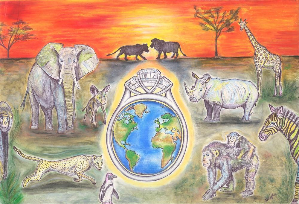 Endangered African Animals Royal Wedding