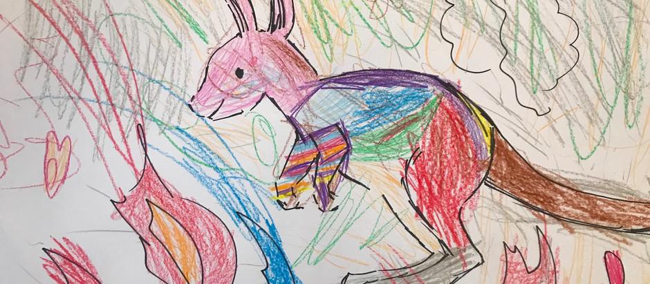 New Infant School Enjoys Conservation Art