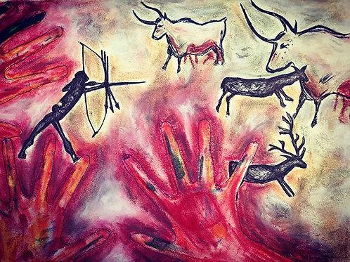 Little Hands Cave Art