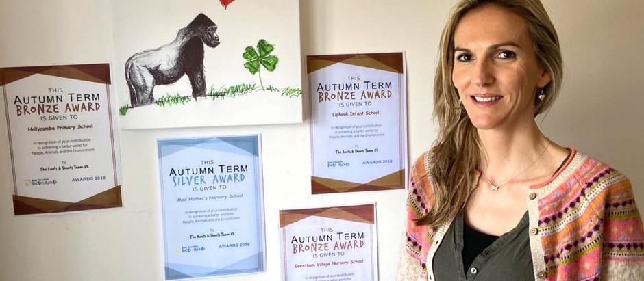 Awards Autumn 2019