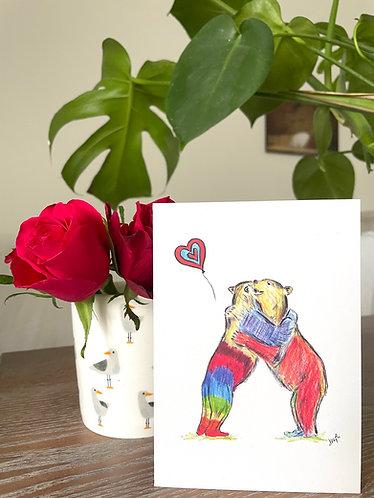 Bear Hug-in-a-Card for Hug A Hospital