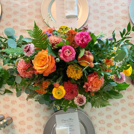 Dinner Florals