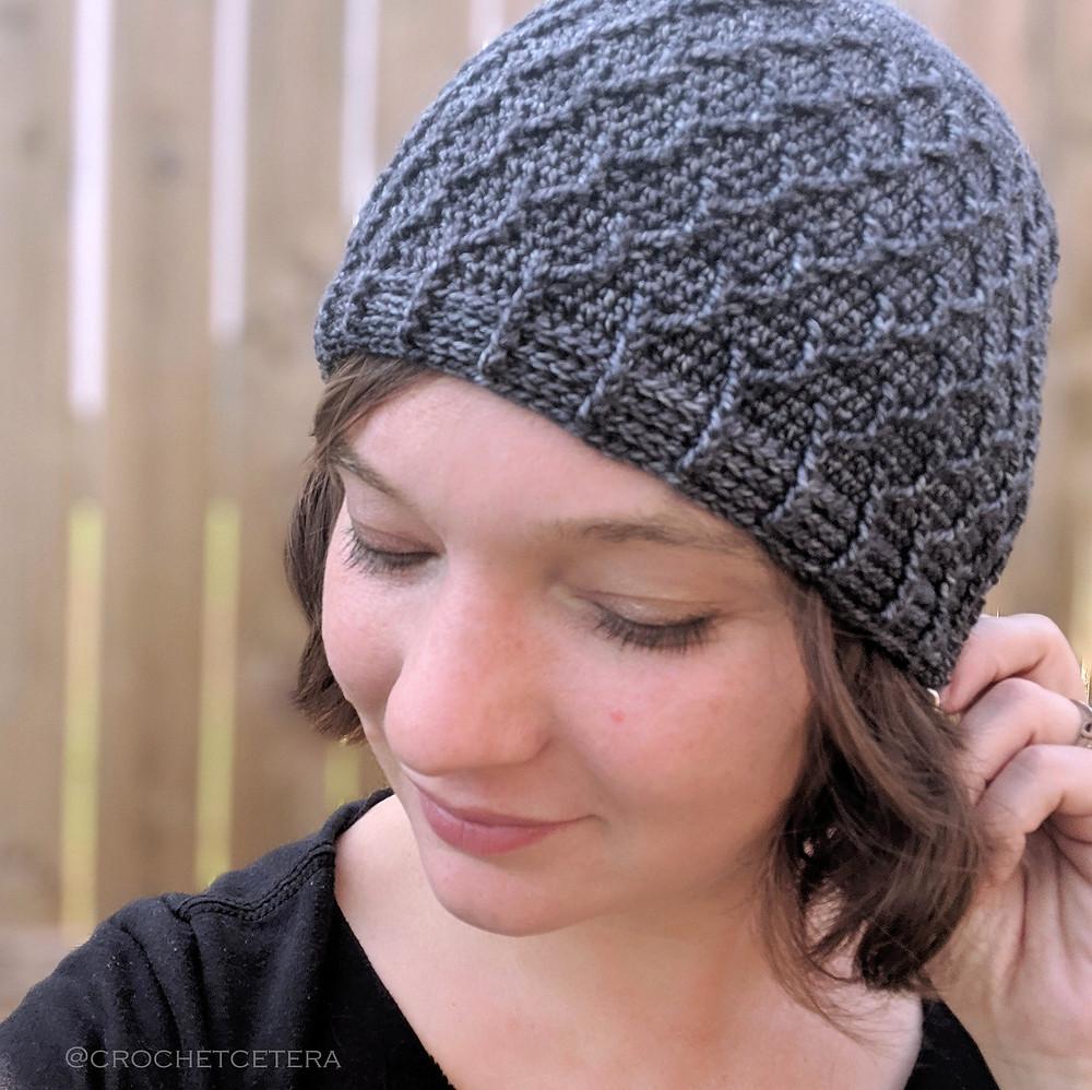 Bifurcation Beanie, crochet pattern by Connie Lee Lynch of CrochEt Cetera by Connie Lee