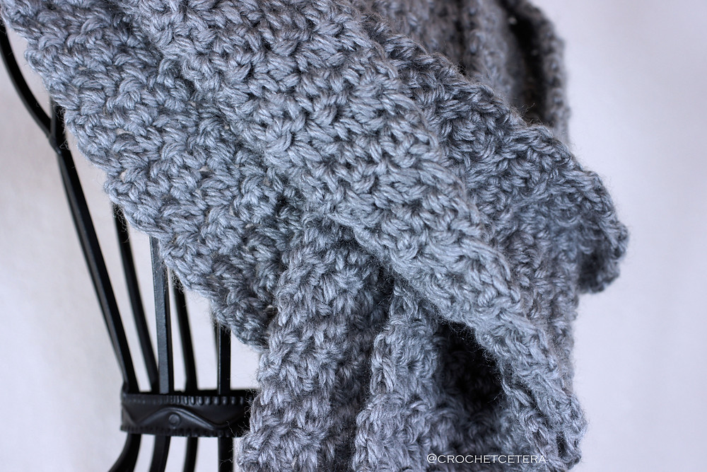 Detail of Simple Textures Scarf