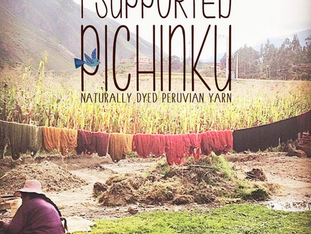 Bringing Pichinku yarn to life!