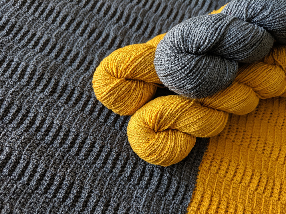 Tarmac Tee Detail with HiKoo® by skacel CoBaSi Yarn, Designed and Crocheted by Connie Lee Lynch of CrochEt Cetera by Connie Lee, Published in Interweave Crochet Magazine Spring 2020 Edition