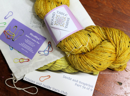 Tristan and Isolde: A Yarn Club Unboxing, Part 5