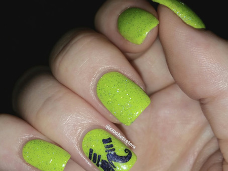 Bewitching Nails for #clairestelle8oct