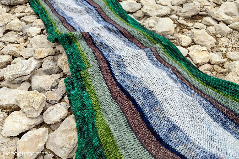 James River Wrap Crochet Pattern by Connie Lee Lynch of CrochEt Cetera by Connie Lee