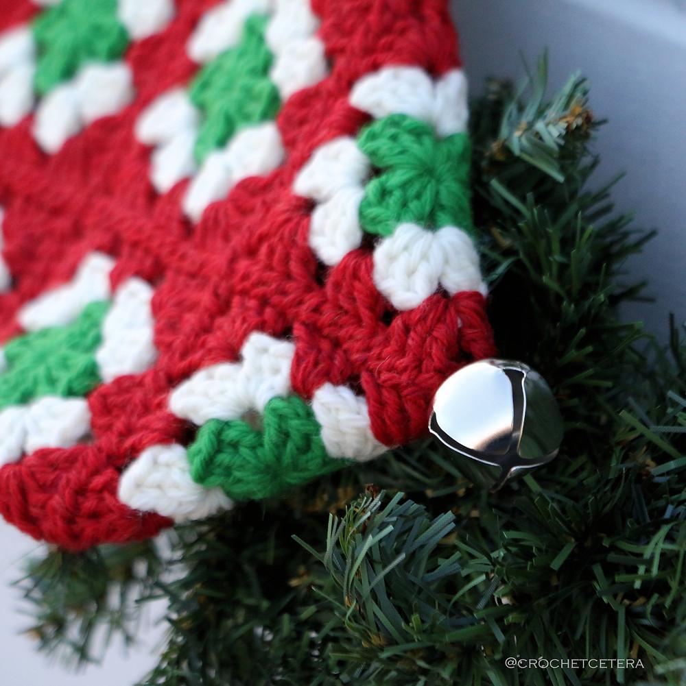 Ye Olde Christmas Stocking Jingle Bell Detail