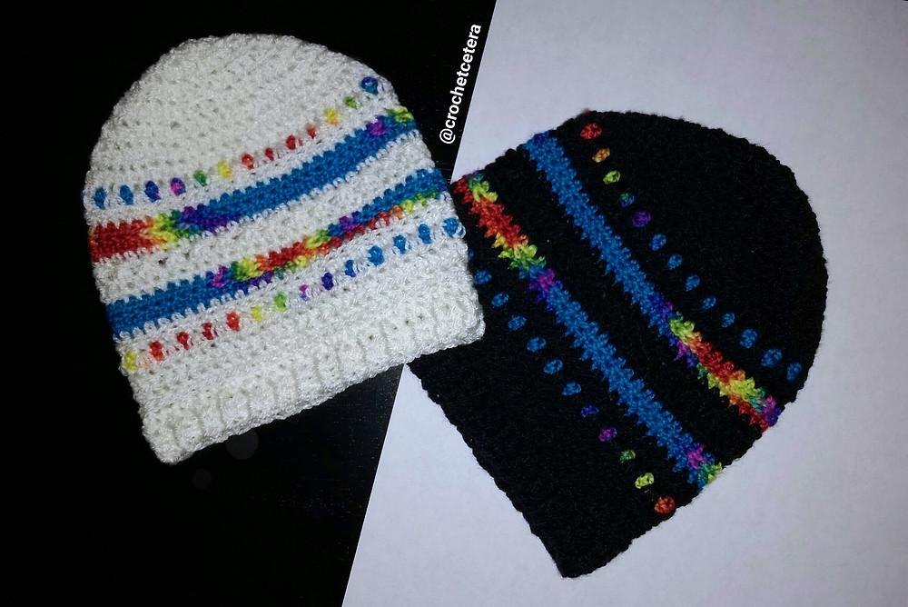 Rainbow Baby C Hats