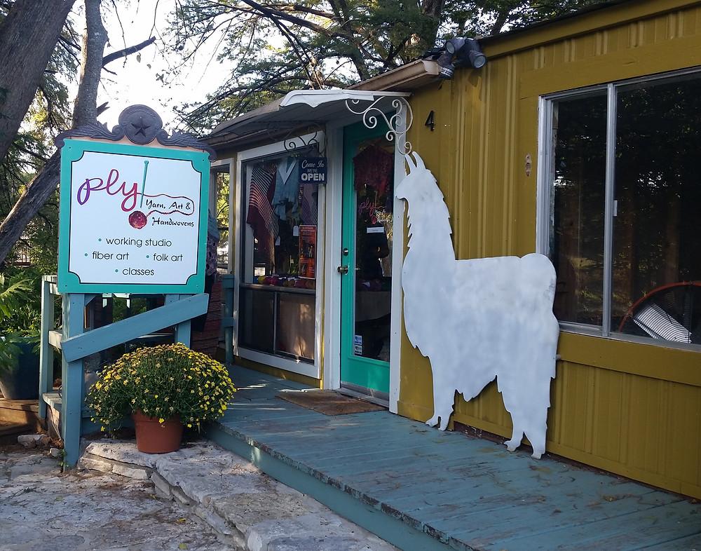 Ply! Yarn, Art & Handwovens, Wimberly, TX