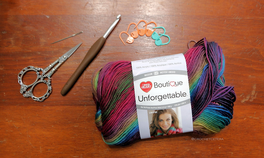 Yarn, Tools & Notions for Chameleon Scarf