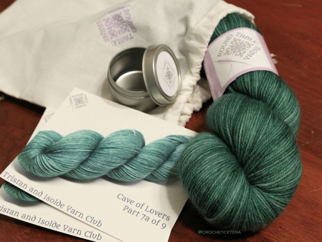 Tristan and Isolde: A Yarn Club Unboxing, Part 7