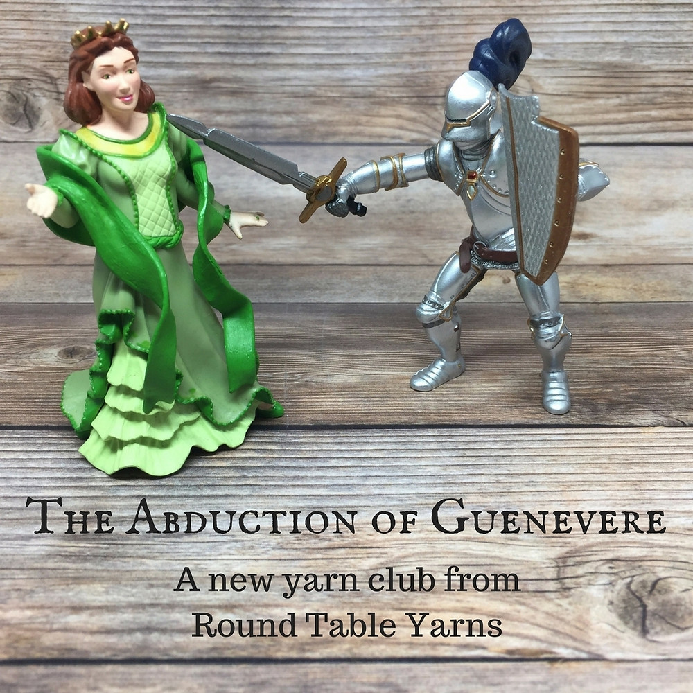 The Abduction of Guenevere Yarn Club from Round Table Yarns