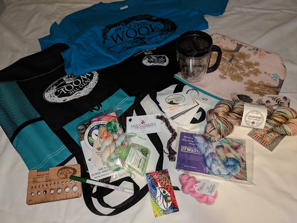 Into the Wool 2018 Welcome Bag Haul