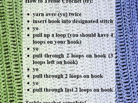 Crash Courses with Connie Lee: Treble Crochet Video Tutorial