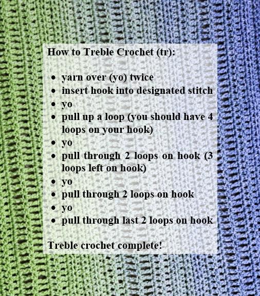 How to Treble Crochet: