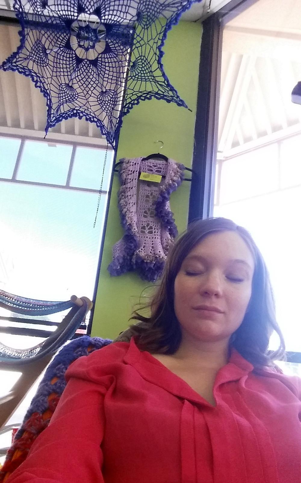 Naptime under crochet at Inskein Yarns