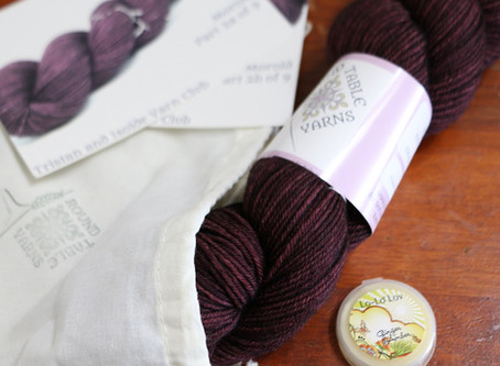Tristan and Isolde: A Yarn Club Unboxing, Part 2