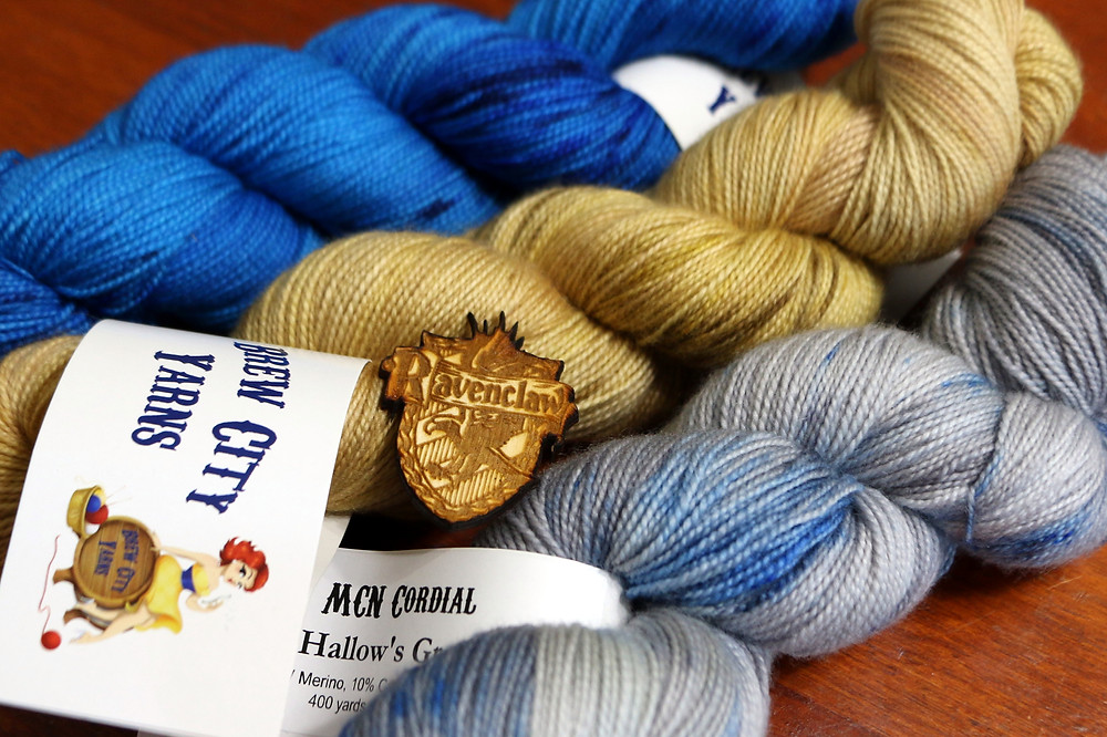 Brew City Yarns Harry Potter Hogwarts House Sorting Kit for Ravenclaw