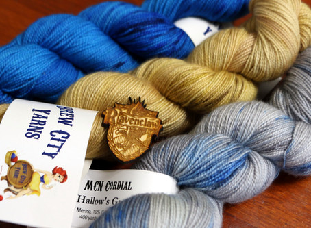 Harry Potter House Sorting Kit: a Brew City Yarns Unboxing