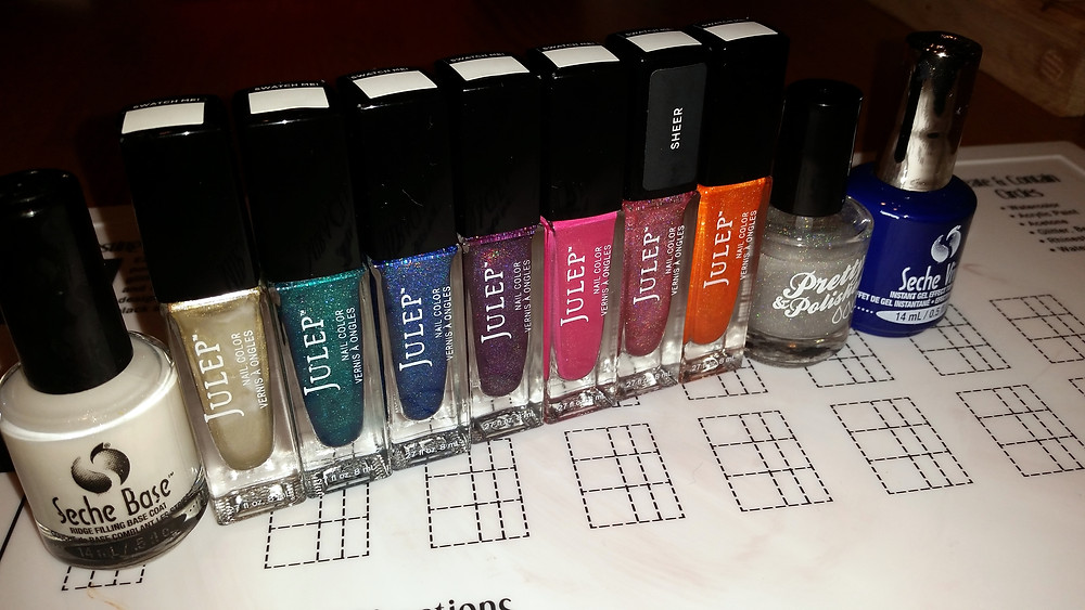 Julep Holographic Polishes