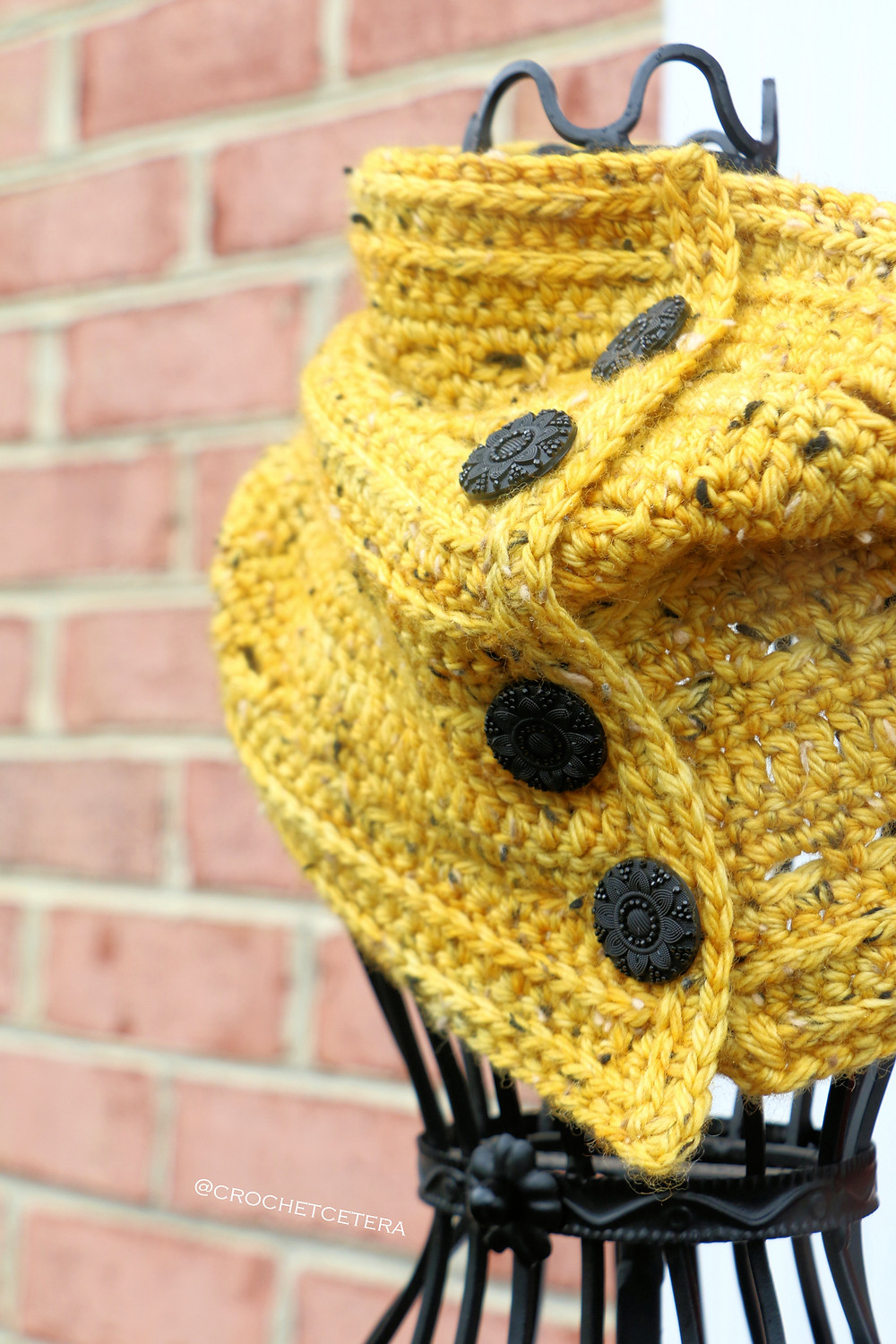 The Indubious Neck Warmer, Designed and Crocheted by Connie Lee Lynch of CrochEt Cetera by Connie Lee
