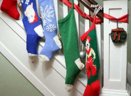 A Little Christmas Knitting