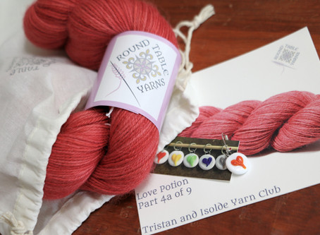 Tristan and Isolde: A Yarn Club Unboxing, Part 4