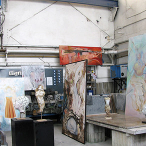 Atelier-Ausstellung Marmor Grund