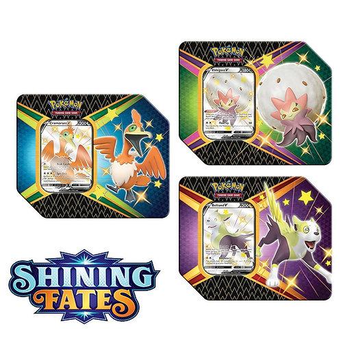 Pokemon TCG SHINING FATES V TIN SWSH 4.5