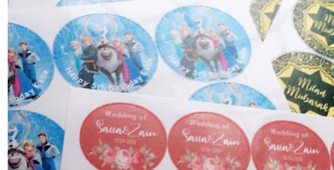 Personalised Sticker Sheets