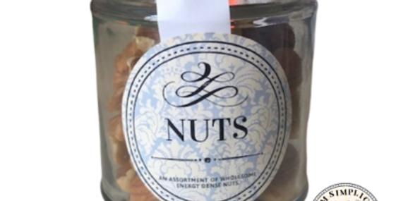 Mixed Nuts Jar