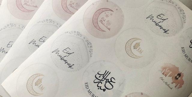 Eid Stickers