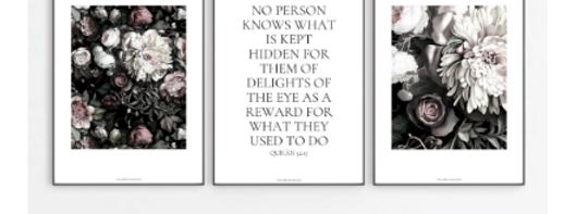 Jannah print set