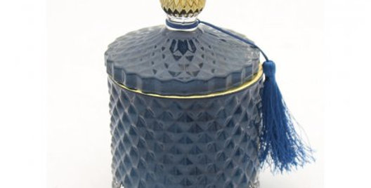 Diamond Candle Jar