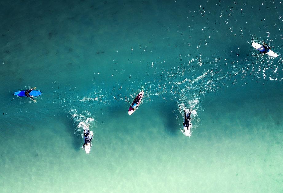 ビーチヨガ&体験サーフィン