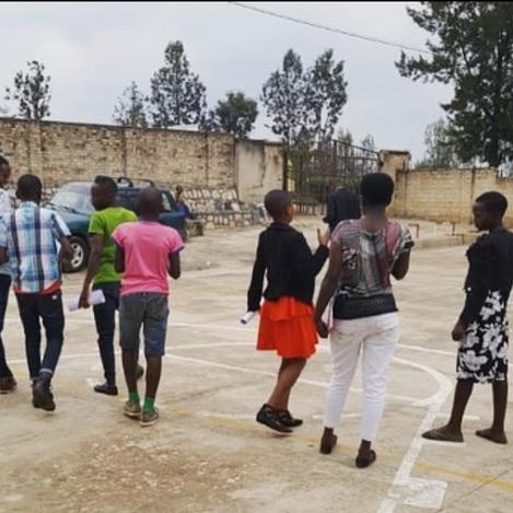 SDG Superheroes program in Muhanga, Rwanda