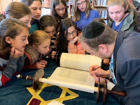 Sefer Torah Completion