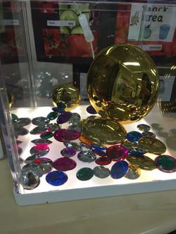 Treasure display