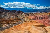 Zabriskie Point at Death Valley National