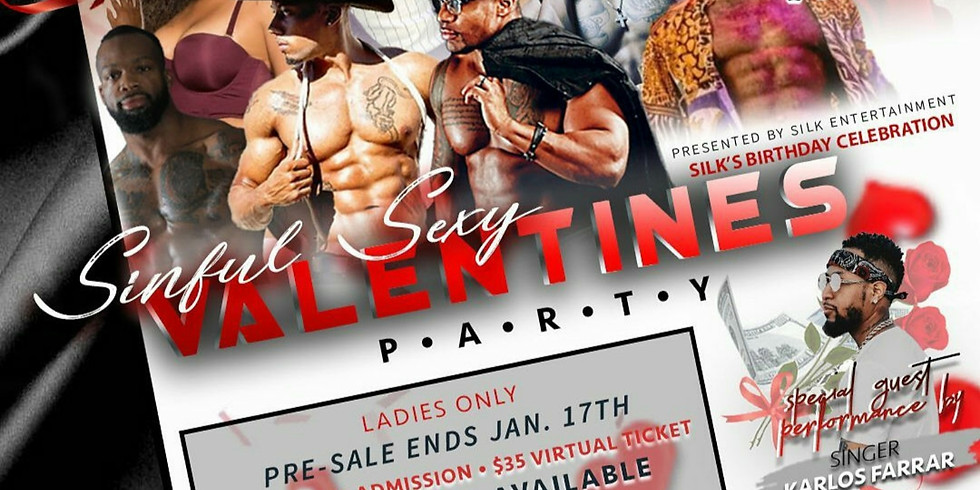 Sinful sexy Valentine's party