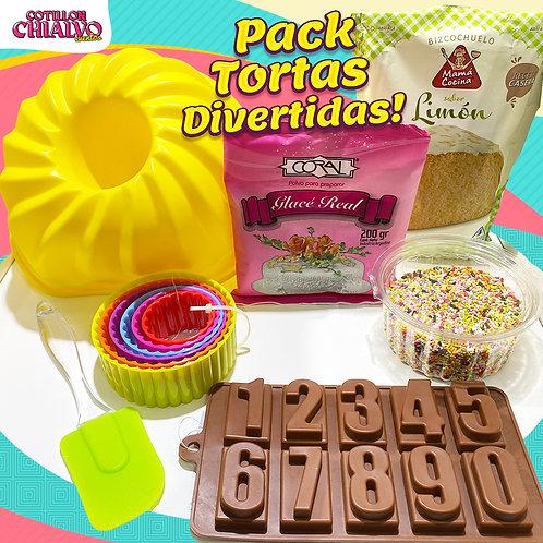 """Pack """"Tortas Divertidas!"""""""
