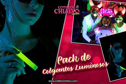 Pack de Colgante Luminoso Quimico Premium