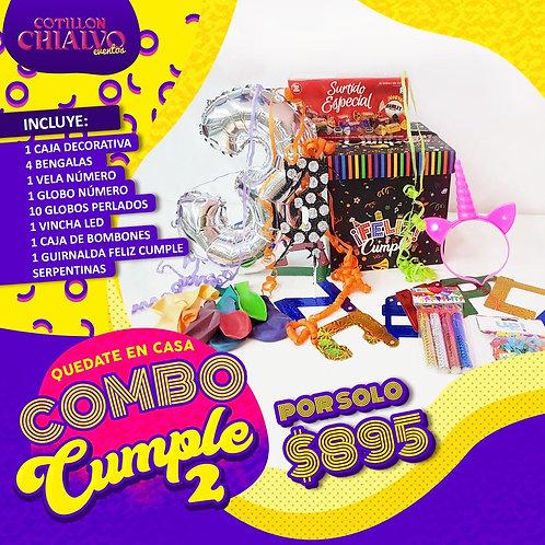 """Combo Infantil """"Cumple 02"""""""