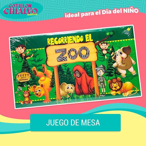 """Juego de Mesa """"Recorriendo el Zoo"""""""