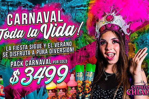 "Pack Carnaval ""Toda la Vida"""