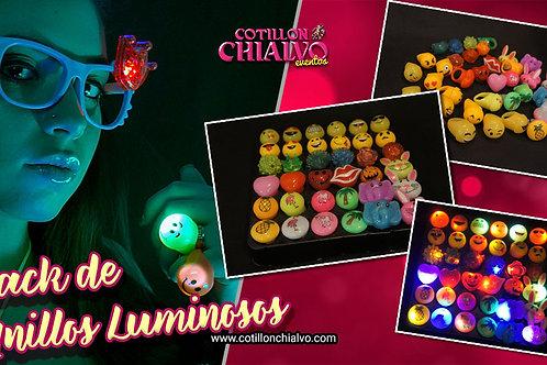 Pack de Anillos Luminosos Premium