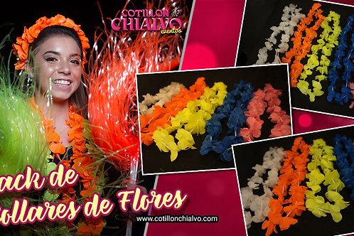 Pack de Collares de Flores Variados